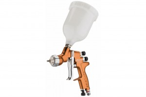 DeVilbiss Advance HD Gravity with pressure assisted cup Spray Gun
