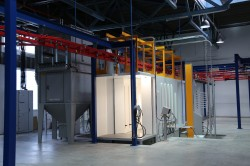 New GEMA automatic powder coating solution in Inlook Color