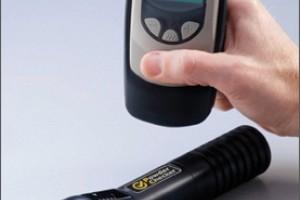 Kontaktivaba kuumutamata pulbri kihipaksusmõõtja