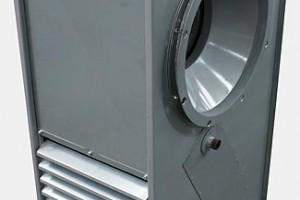 Kompaktne vesiküttel kütteseade ventilaatoriga