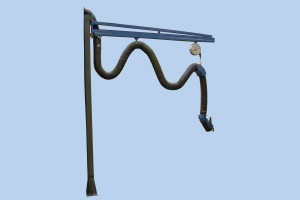 Swing arm with rails type VA